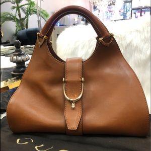 Authentic Gucci vintage stirrup bag